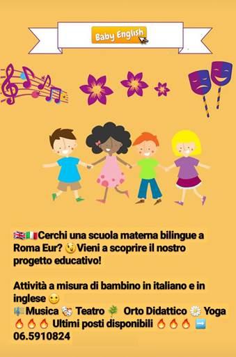 scuola materna bilingue roma eur